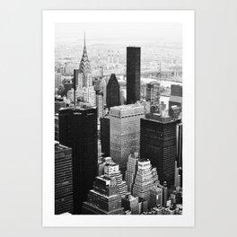 50 Shades of NY Art Print