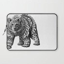 Ornate Bear Laptop Sleeve