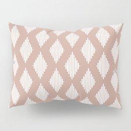 Diamond Lines / Desert Blush Pillow Sham