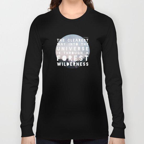 Wilderness Long Sleeve T-shirt
