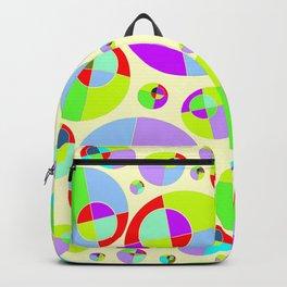 Bubble yellow & purple 10 Backpack