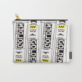 Cadmium Yellow Light Paint tube Carry-All Pouch