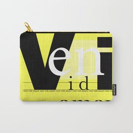 Veni Vidi Amavi Carry-All Pouch