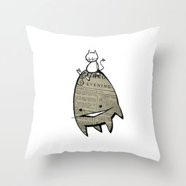 minima - joy ride Throw Pillow