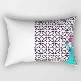 Deep down inside you already know the truth Rectangular Pillow