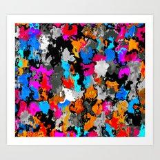 Used Smock 1 Art Print