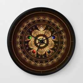 Gathering the Five Fractal Colors of Magic Wall Clock