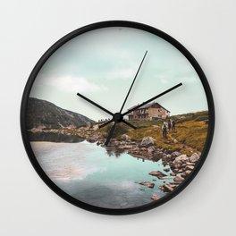 The seven Rila lakes Wall Clock