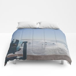 Sight and Surf - Venice Beach, California Comforters