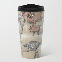 Captain Karaoke Metal Travel Mug