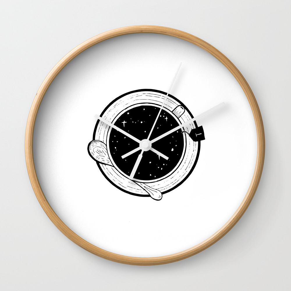 Storm In A Tea Cup Wall Clock by Bukxa CLK8751401