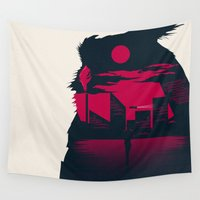 runner Wall Tapestries featuring Blade Runner by Inno Theme
