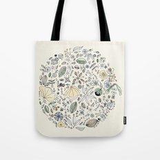 Circulo de flores Tote Bag