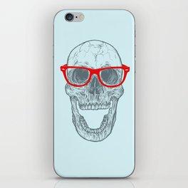 Smart-Happy Skully iPhone Skin