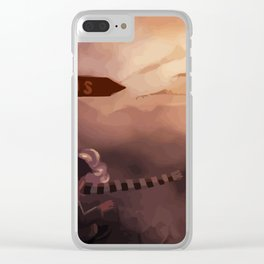 Reality and Dreams: which direction? Clear iPhone Case