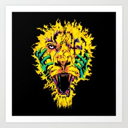 Hannibal Tripped Art Print