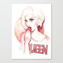 Strawberry Queen Canvas Print