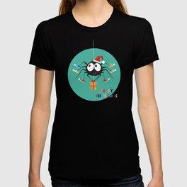 Happy Christmas Santa Spider T-shirt