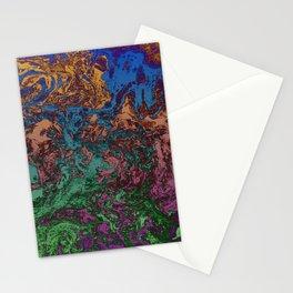 "Marbré ""psychélectrique"" Stationery Cards"