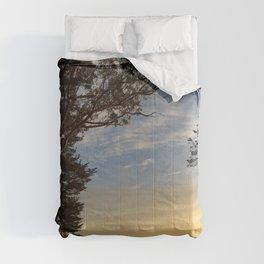 Mt. Davidson Sunrise Comforters