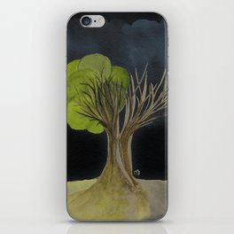Duality Tree iPhone Skin
