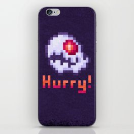 Hurry Von Death Ghost iPhone Skin
