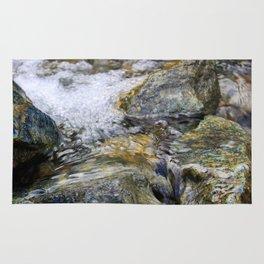 Water Color Rocks Rug