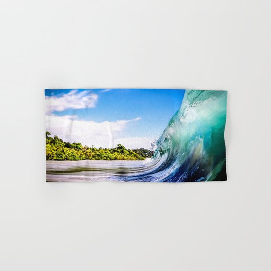 Wave Wall Hand & Bath Towel