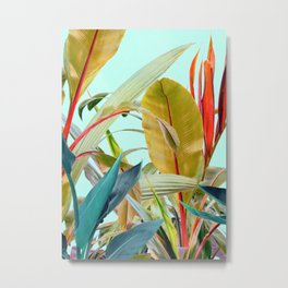 Tropical Jungle Metal Print