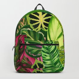 Nana's Wallpaper in Green Backpack