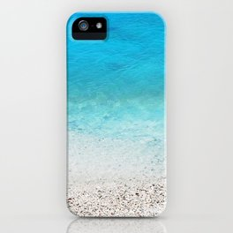 231. Blue Water, Greece iPhone Case