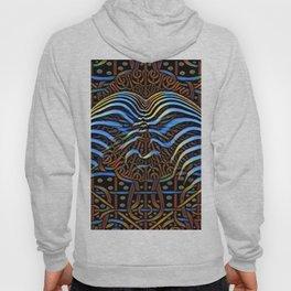 7852s-KMA_4972 Abstract Feminine Booty in Blue Stripes Hoody