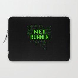 Netrunner Programmer IT Computer Administrator Laptop Sleeve
