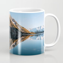 Calm Mountain Lake at Sunset - Landscape Photography Coffee Mug