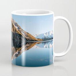 Calm Mountain Lake at Sunset - Landscape Photography Coffee Mug