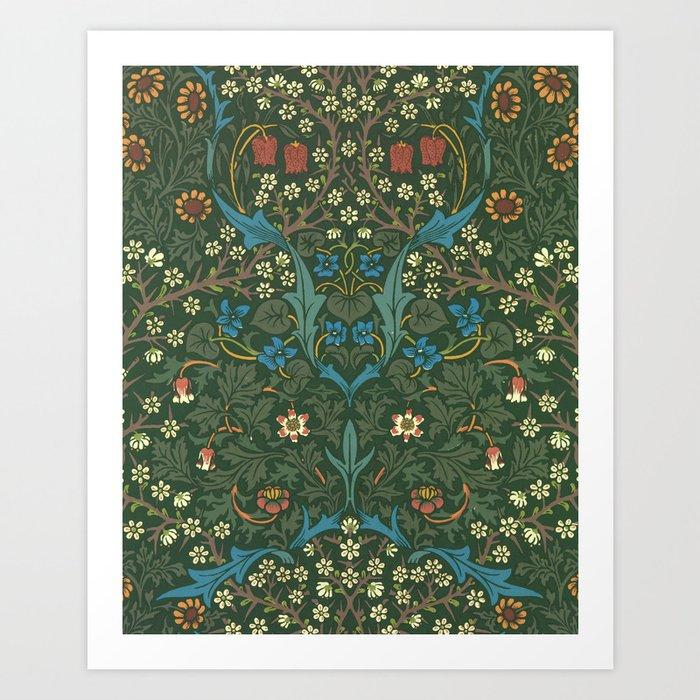 "William Morris ""Blackthorn"" 1. Kunstdrucke"