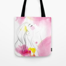 Above it all Tote Bag