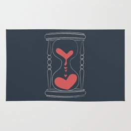 Forever Love Hourglass Rug