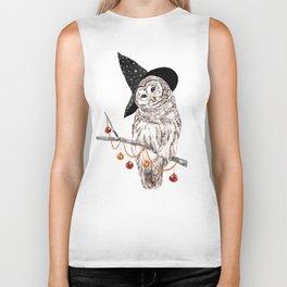 Halloween Owl Biker Tank