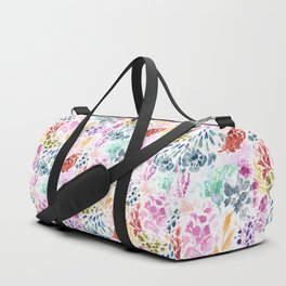 cornelia. watercolor florals. Duffle Bag