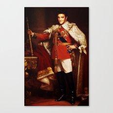 The King  |  Elvis Presley Canvas Print