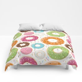 Donut pattern 005 Comforters