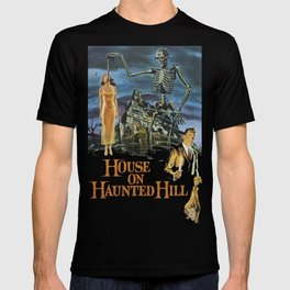 House On Haunted Hill, 1959 Campy Horror Movie T-shirt