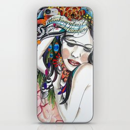 Thinking About Thinking iPhone Skin