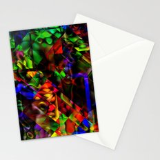 Android Abstract Tim Henderson Stationery Cards
