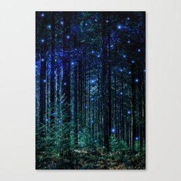 Magical Woodland Canvas Print