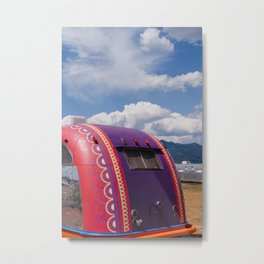 New Mexico Airstream II Metal Print