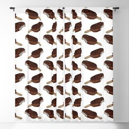 Chocolate popsicle Blackout Curtain