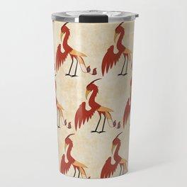 Phoenix Pattern Travel Mug