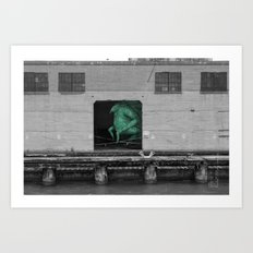 Unseen Monsters of San Francisco - Frankso Tonkfancy Art Print